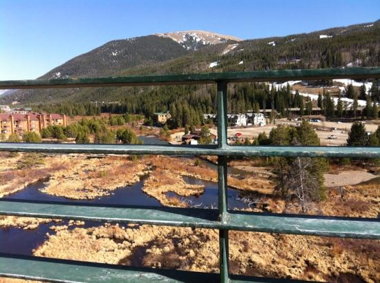 Inn at Keystone: view toward the wetlands