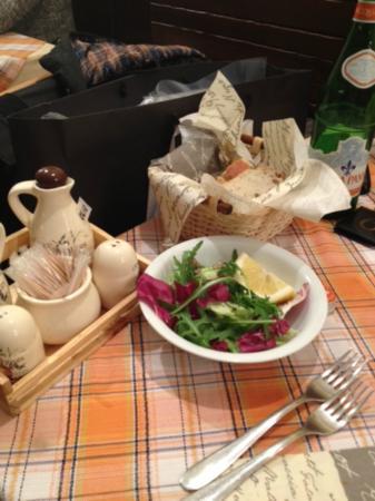 Vaca Loca: Costosa insalata mista