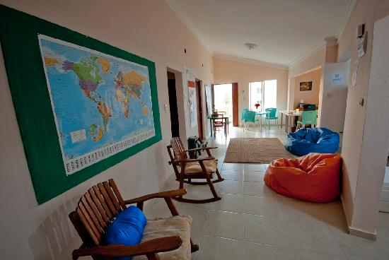 Bavaro Hostel: common area