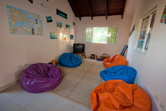 Bavaro Hostel: living room