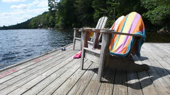 The Waldheim : Main lake dock