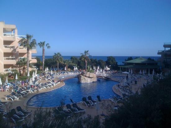Tropic Garden Aparthotel: seaview!