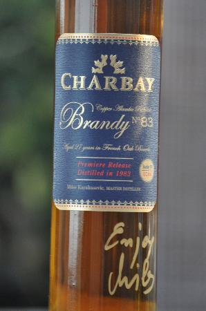 Hidden Napa Jeep Wine Private Tours: Charbay Brandy - aged 27 years