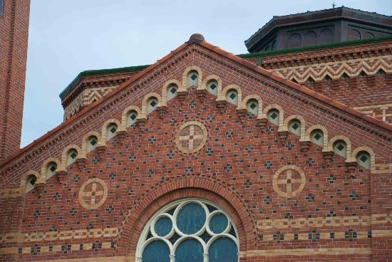 First Presbyterian Church: Building detail at this nice church