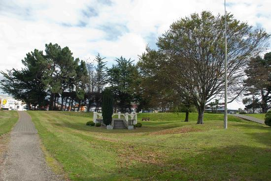 Otepuni Gardens : Otepuni Garden's undulating hills