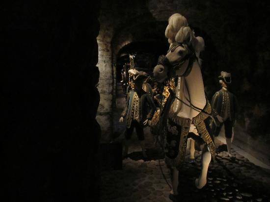 Royal Armory: carriage room