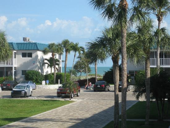 Sanibel Arms West Condominium: View from our front porch in unit H-6