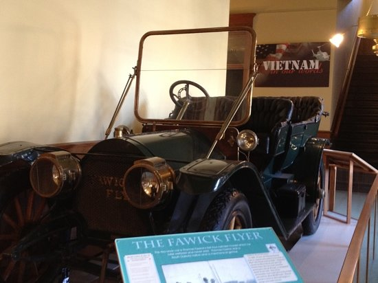 Old Courthouse Museum: Fawick Flyer