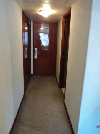 Hotel Stanza: Entrada de la habitación