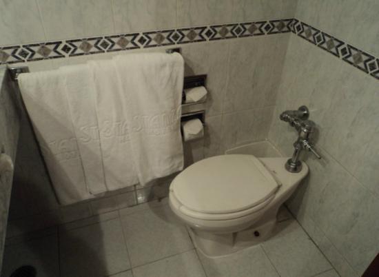 Hotel Stanza : WC y toallas