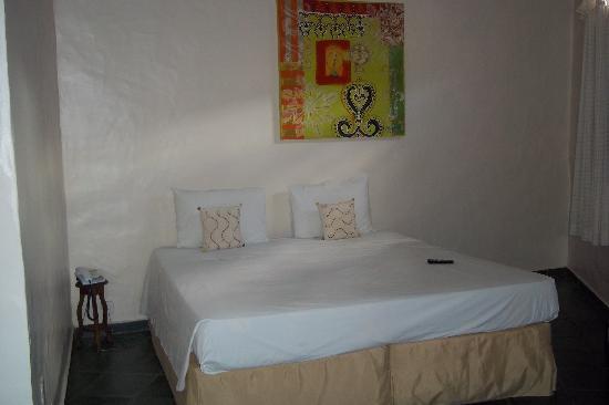 Pousada Safira do Morro: Las habitaciones son espaciosas y la limpieza es muy buena