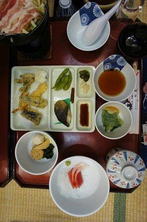 Hotel New Shichisei: 夕食