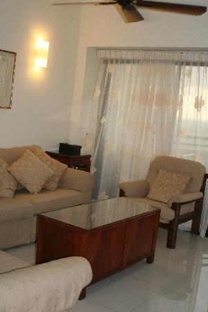 Sri Sayang Resort Service Apartment: SS16-04: Open plan lounge area.