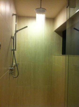 Rydges Campbelltown Sydney: Huge shower with rain water head and detachable head