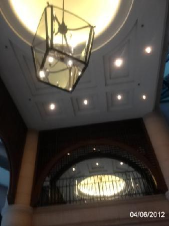 Ambassador Row Hotel Suites by Lanson Place: lobby ceiling