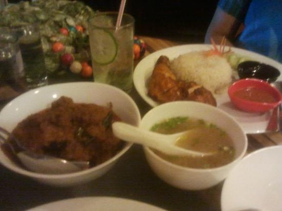 Straits : Mutton Rendang with Hainanese Chicken Rice