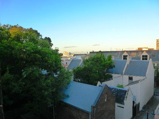 Sydney Harbour Bed and Breakfast: View from Phillip Room