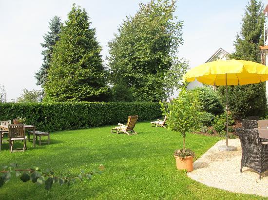 Hotel von Sanden: Garten