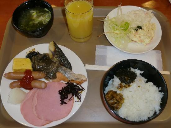 Alpha Hotel Aomori: 朝食