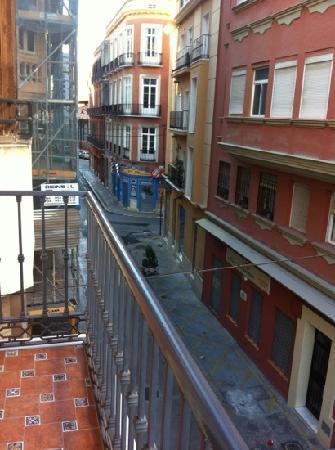 Hotel Trebol: Balcón