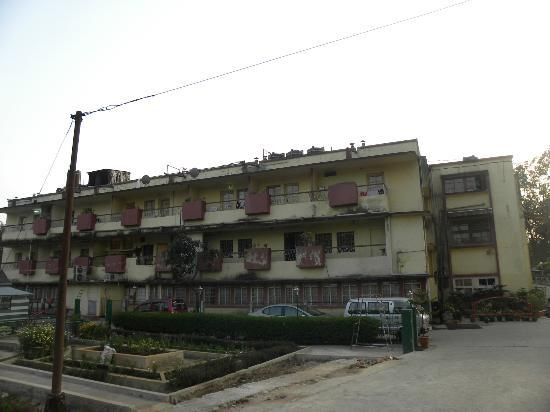 The Shillong Club: Rear view of residential quarters