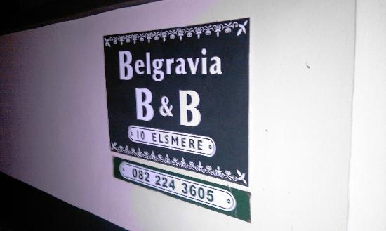 Belgravia Bed and Breakfast: Avoid this unfriendly place