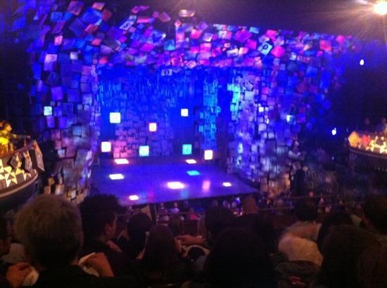 Matilda the Musical: circle view of stage