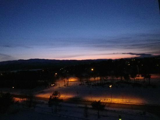 Scandic Alta: Sicht aus dem Hotelzimmerfenster