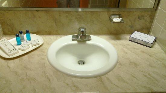 Subic International Hotel: sink