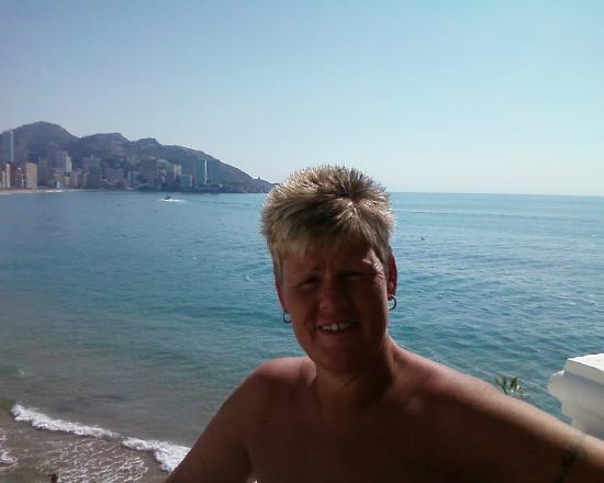 Riviera Beachotel: angie  old town view