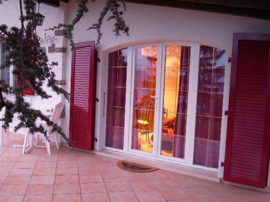 B&B Chez Bibiane & Rene : 部屋の入り口