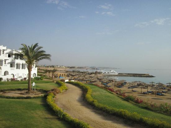 Mercure Hurghada Hotel: Aussicht von der Terrasse