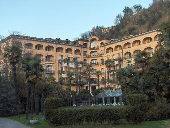 Grand Hotel Villa Castagnola: Beautiful hotel in a beautiful city...