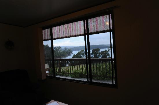 Tamar River Retreat: view from house