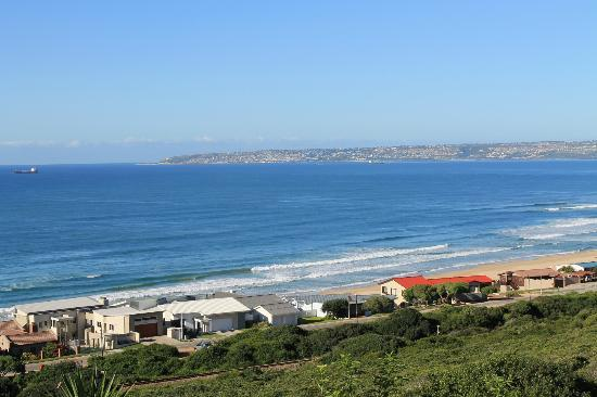 At Whale-Phin Guest House: View of Mossel Bay from At Whale-Phin