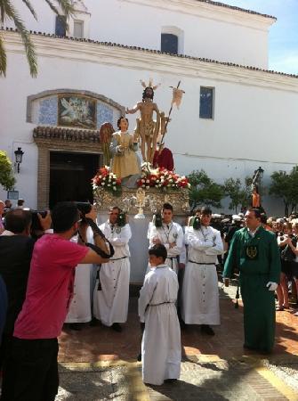 Iglesia Mayor de la Encarnacion: Domingo de Resurrección 2012