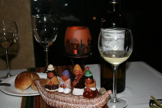 Hotel Rosario Lago Titicaca: un detalle de las vinagreras (arcusas) totora con la familia, me sorprendio gratamente, como tod
