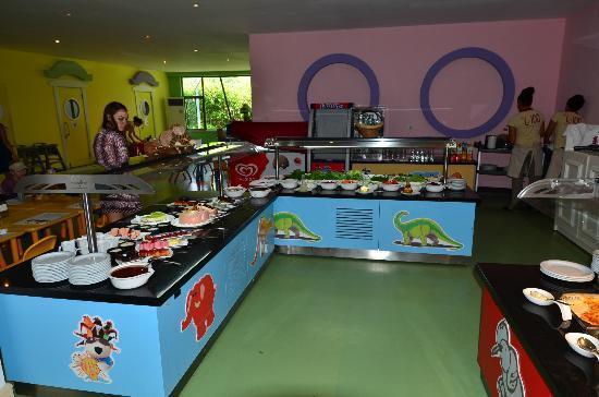 Ela Quality Resort Belek: kids restaurant