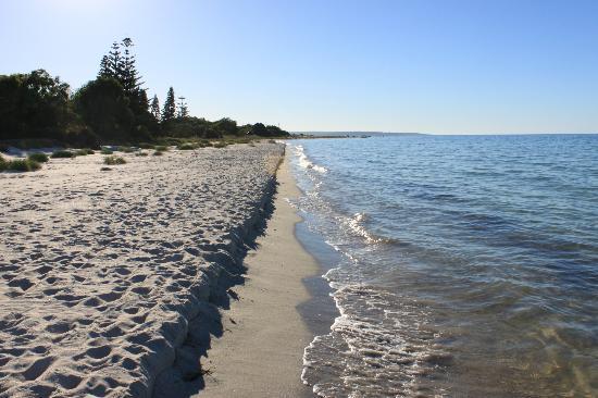 Halcyon Bay: Beach
