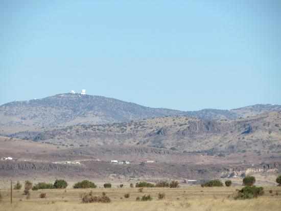 Chihuahuan Desert Nature Center & Botanical Garden: The view of the Observatory