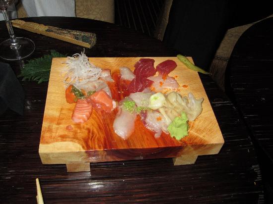 Karma Kafé: Raw fish platter