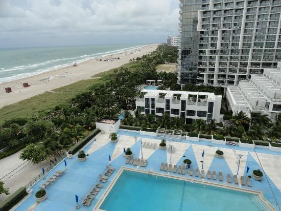 Roney Plaza Apartments: desde el balcon