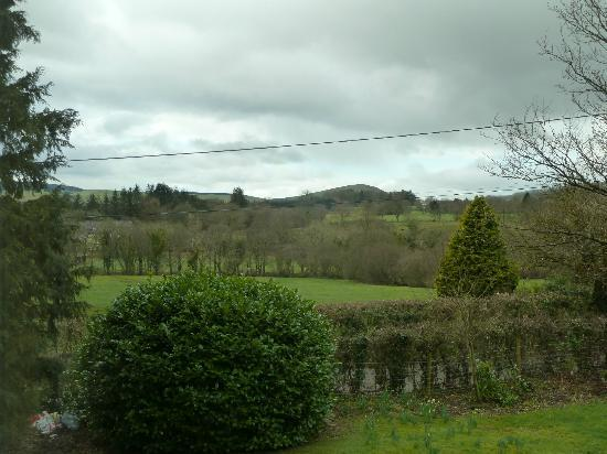 Ardwyn House: View from the room