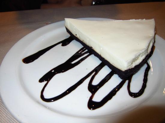 Restaurante La Alpargateria: Tarta de queso con chocolate oreo