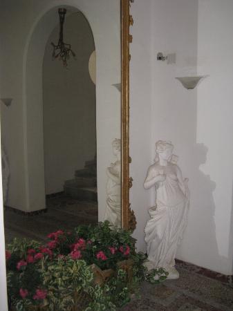 Albergo Esperia: Entrata dell'hote