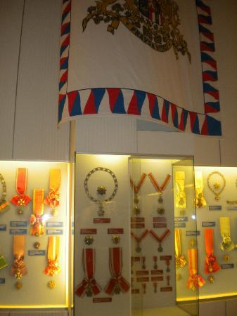 Army Museum Zizkov : Impressive presentation of the medals & orders of Benes