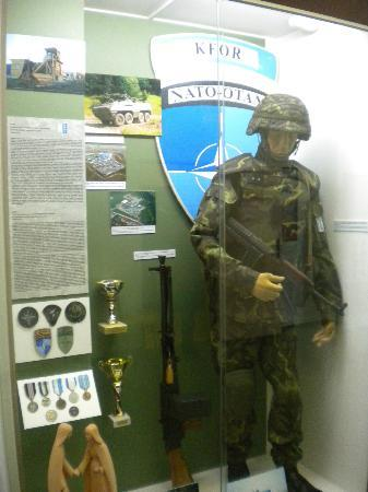 Army Museum Zizkov : A missing period..1945 to 1993