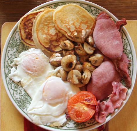 Kajon House B&B: Full Irish Breakfast