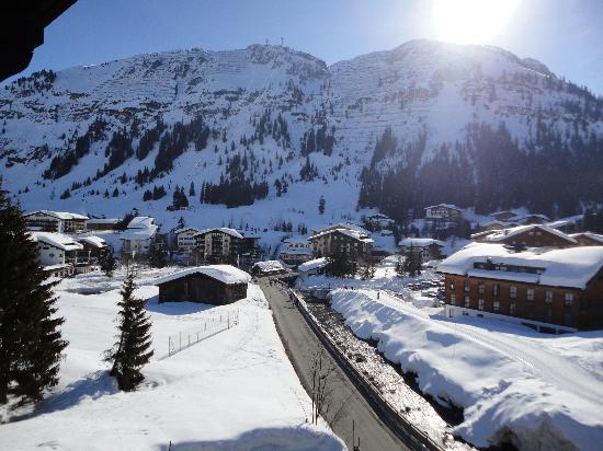 Hotel Haldenhof: View from room 22