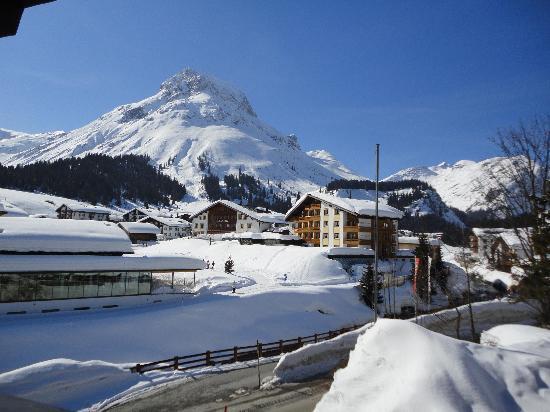 Hotel Haldenhof: View from room 2